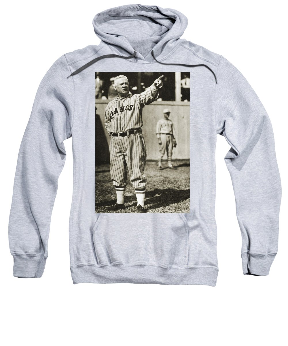 20th Century Sweatshirt featuring the photograph John Mcgraw (1873-1934) by Granger