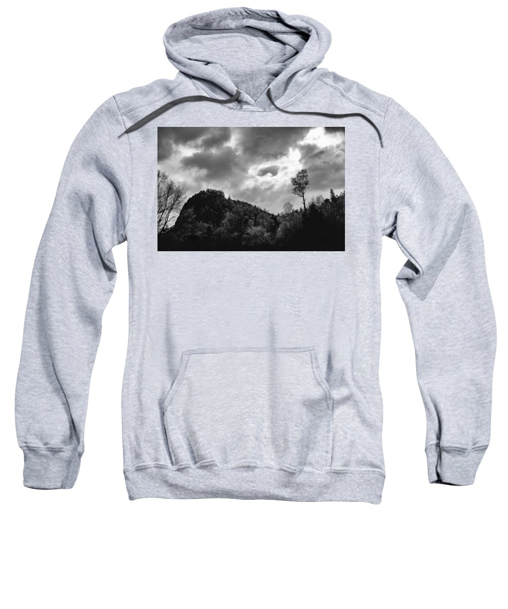 Clouds Sweatshirt featuring the photograph Just Before The Rain by Guy Whiteley