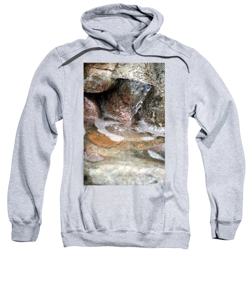 Letting Sweatshirt featuring the photograph Letting Go by Maria Urso