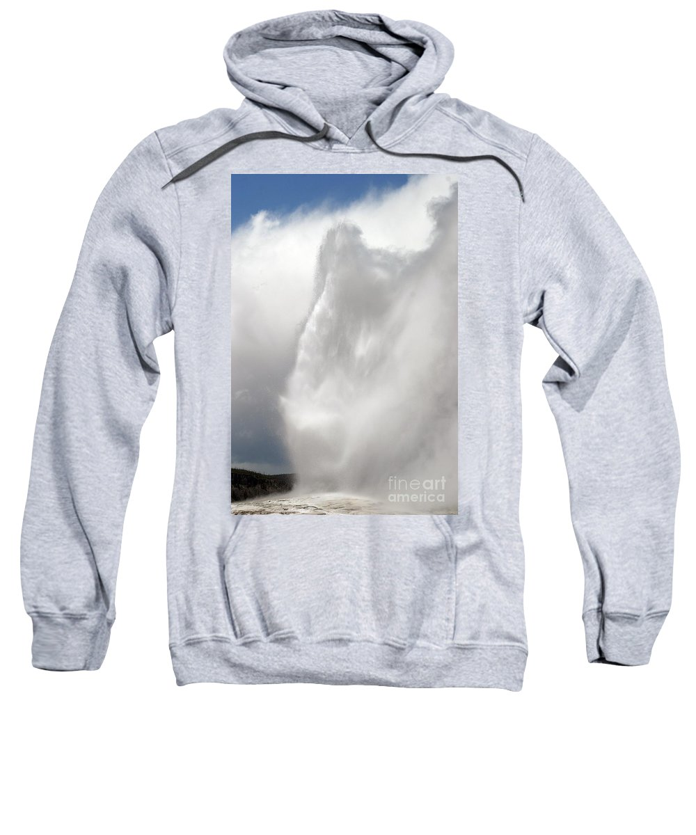Old Faithful Sweatshirt featuring the photograph Magnificent by Living Color Photography Lorraine Lynch