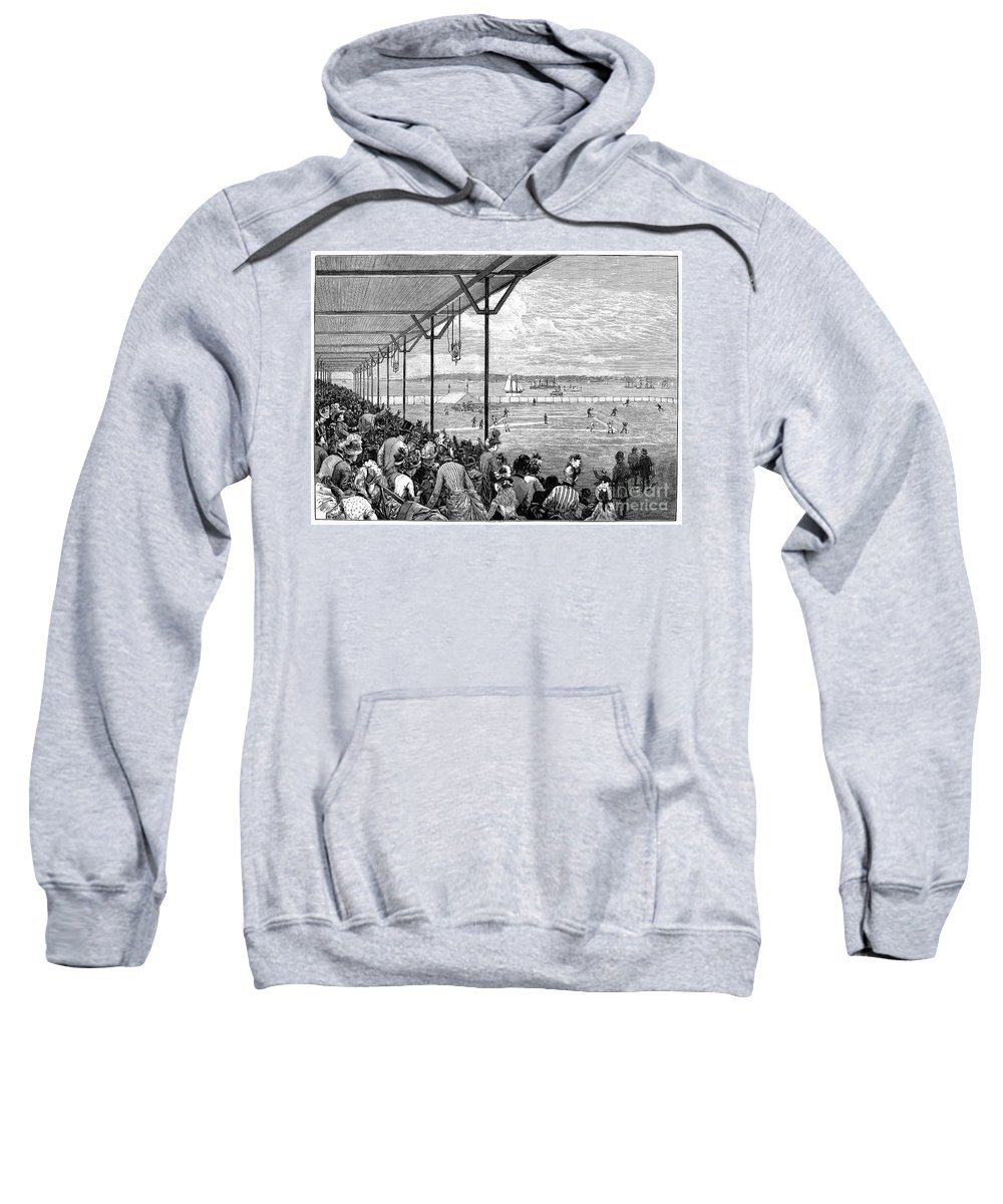 1886 Sweatshirt featuring the photograph New York: Baseball, 1886 by Granger