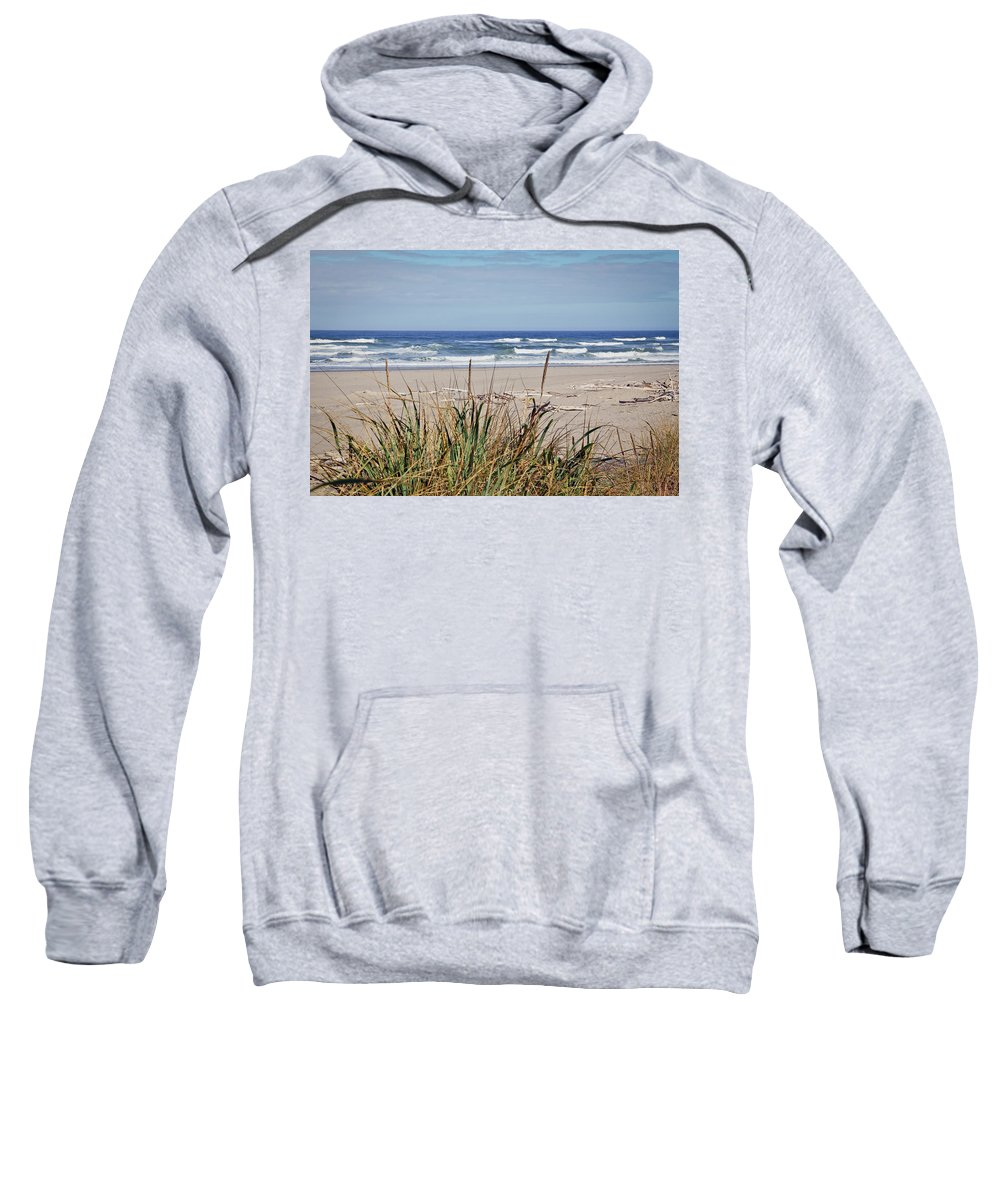 Beach Sweatshirt featuring the photograph Ocean Viewpoint by Athena Mckinzie