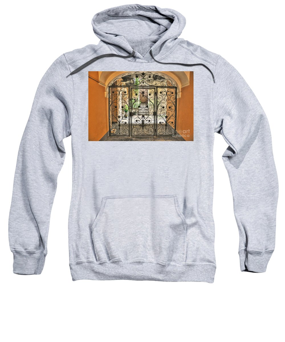 Gate Sweatshirt featuring the photograph Old Gate by Mats Silvan