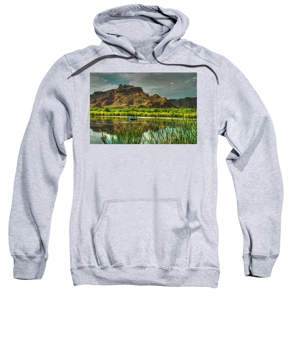 Red Mountain Sweatshirt featuring the photograph Red Mountain by Tam Ryan