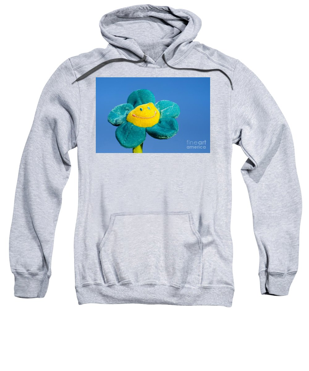 Smile Flower Sweatshirt featuring the photograph Smile Flower by Mats Silvan