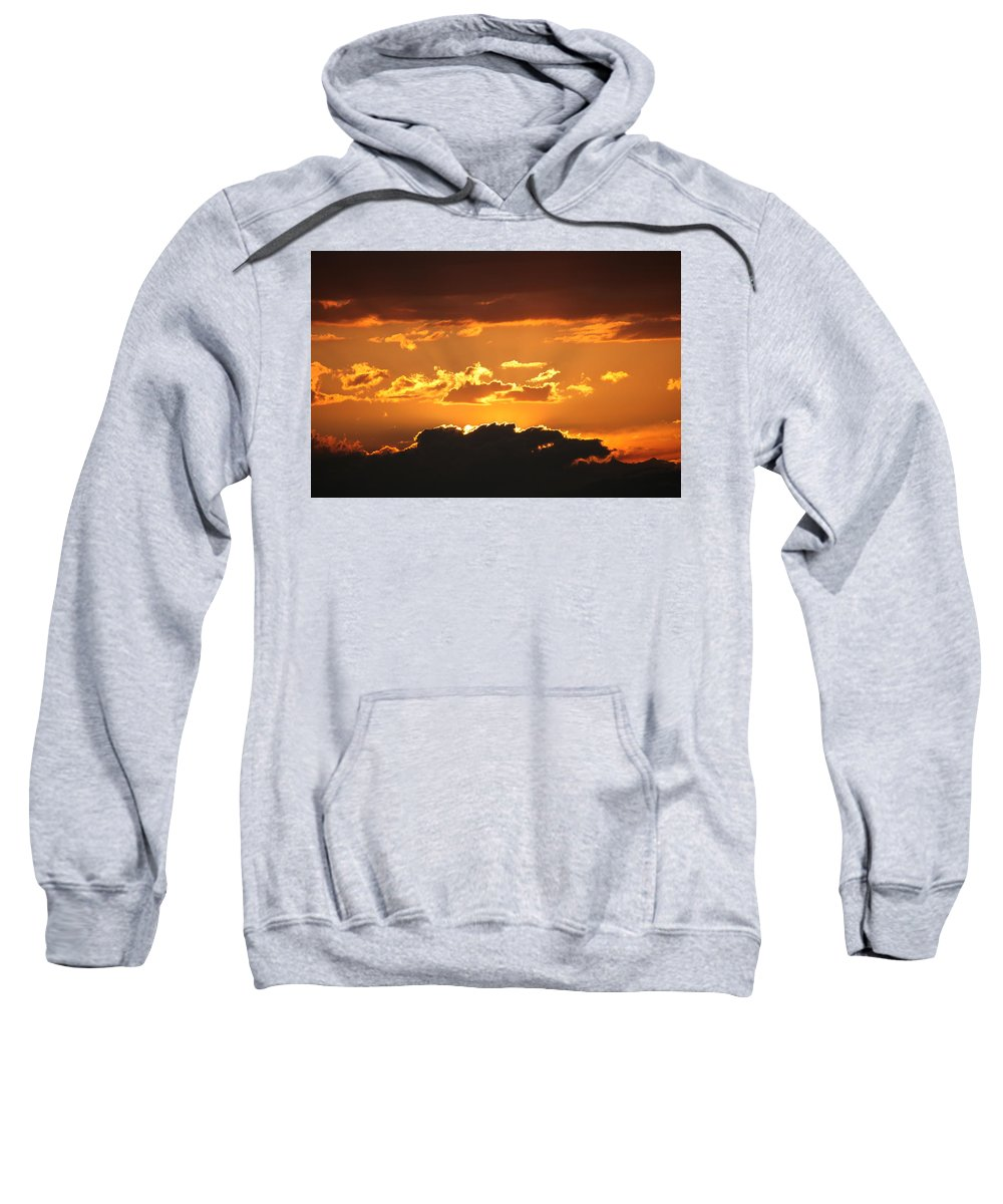 Sunset Sweatshirt featuring the photograph Sunset by Francesco Scali