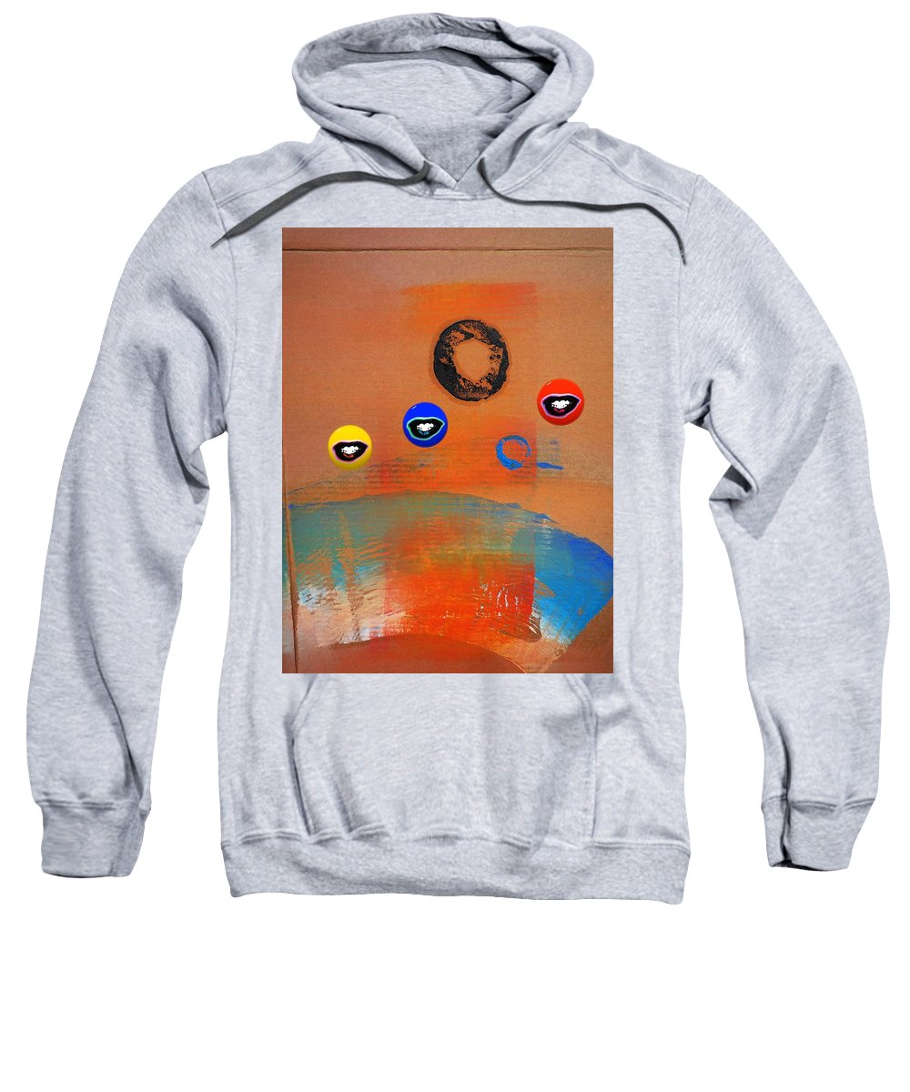 Australia Sweatshirt featuring the painting Surfs Up by Charles Stuart