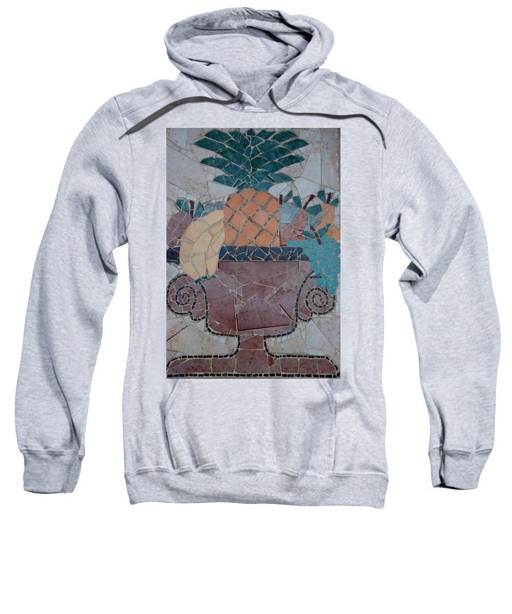 Fruit Sweatshirt featuring the photograph Tiled Fruit by Rob Hans