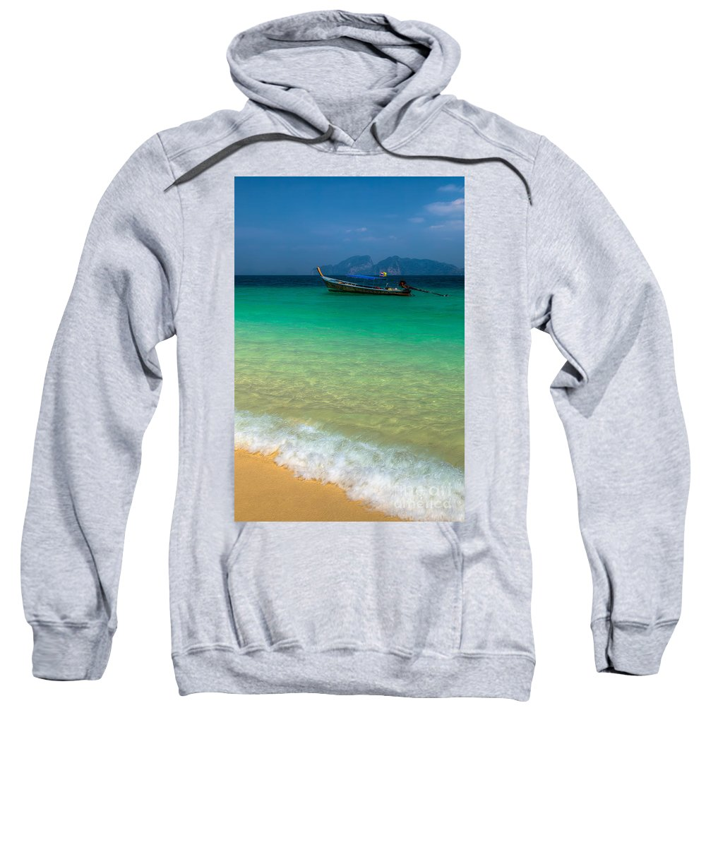 Asia Sweatshirt featuring the photograph Tropical Paradise by Adrian Evans