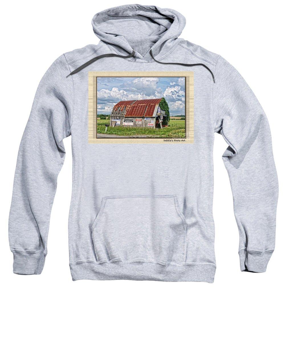 Landscape Sweatshirt featuring the photograph Vote For Me I by Debbie Portwood