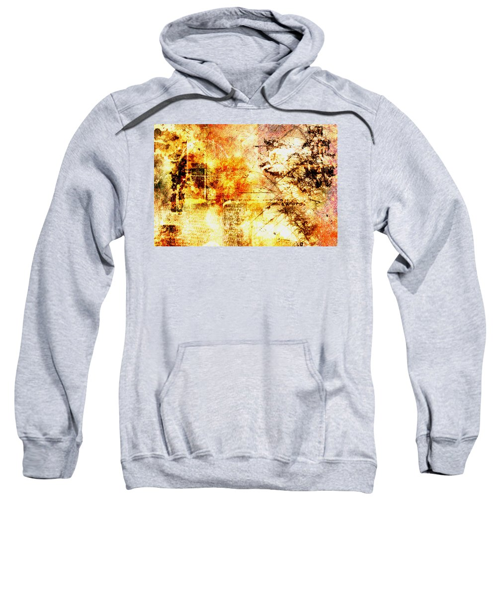 Wilderness Sweatshirt featuring the painting Wilderness by Christopher Gaston