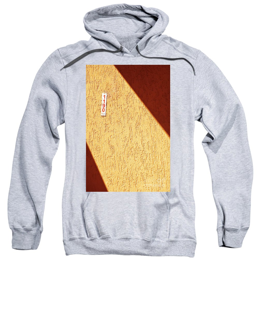 Wall Sweatshirt featuring the photograph 1190 by Silvia Ganora