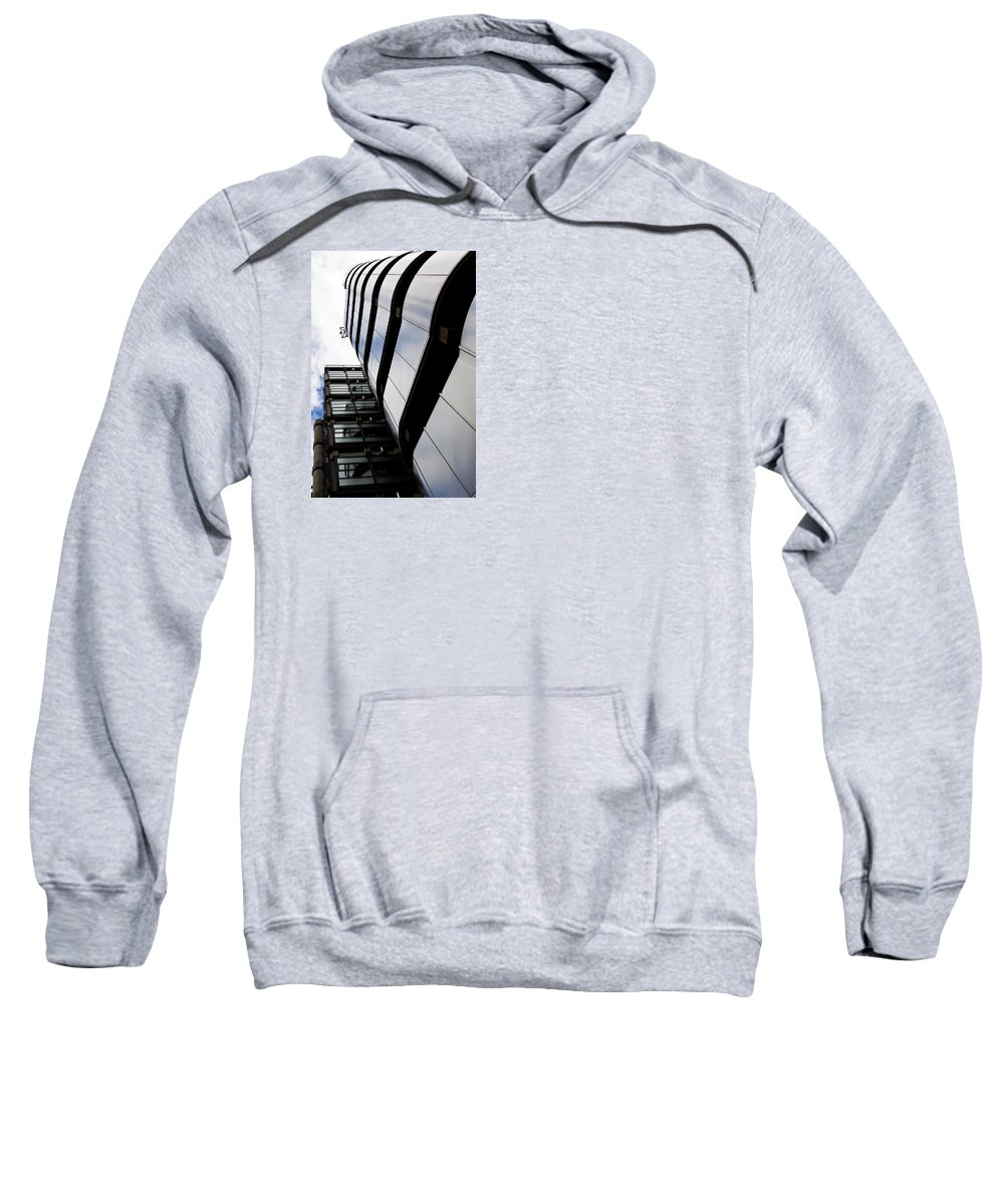 Lloyds Sweatshirt featuring the photograph Lloyds Building London by David Pyatt