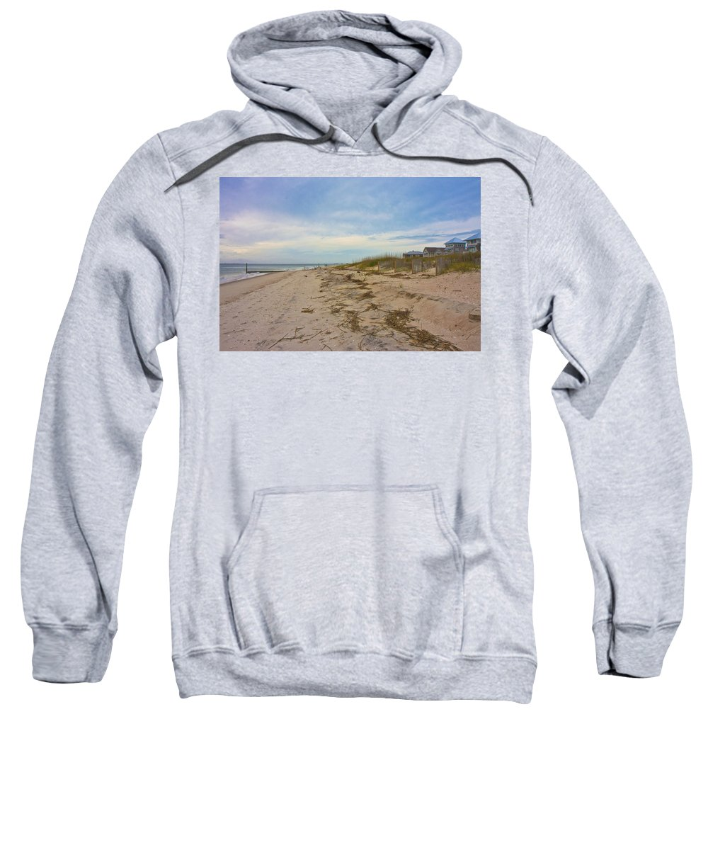 Bald Sweatshirt featuring the photograph Untitled by Betsy Knapp