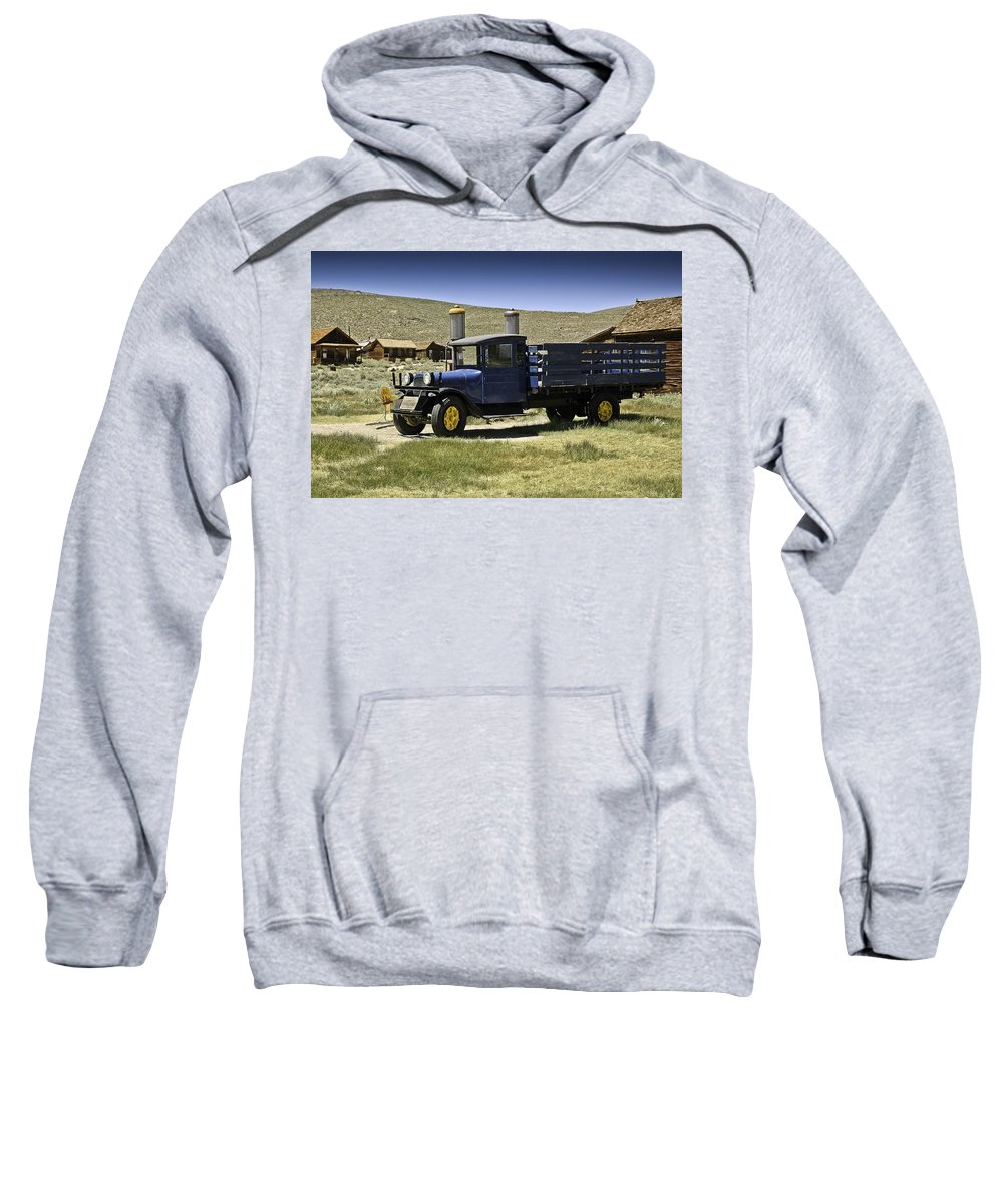Dodge Sweatshirt featuring the photograph 1927 Dodge Graham Bodie Ca by LeeAnn McLaneGoetz McLaneGoetzStudioLLCcom