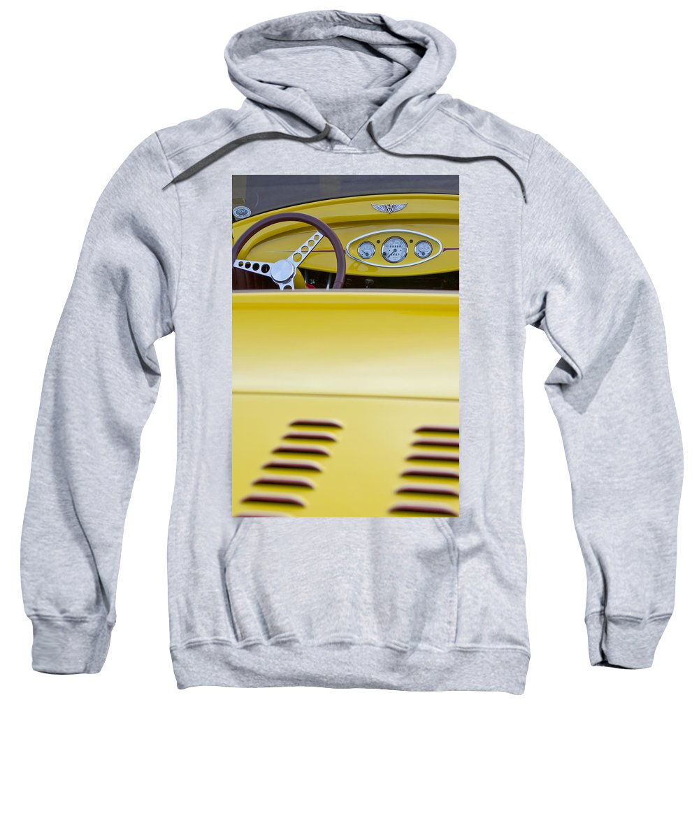 1929 Ford Model A Roadster Sweatshirt featuring the photograph 1929 Ford Model A Roadster by Jill Reger