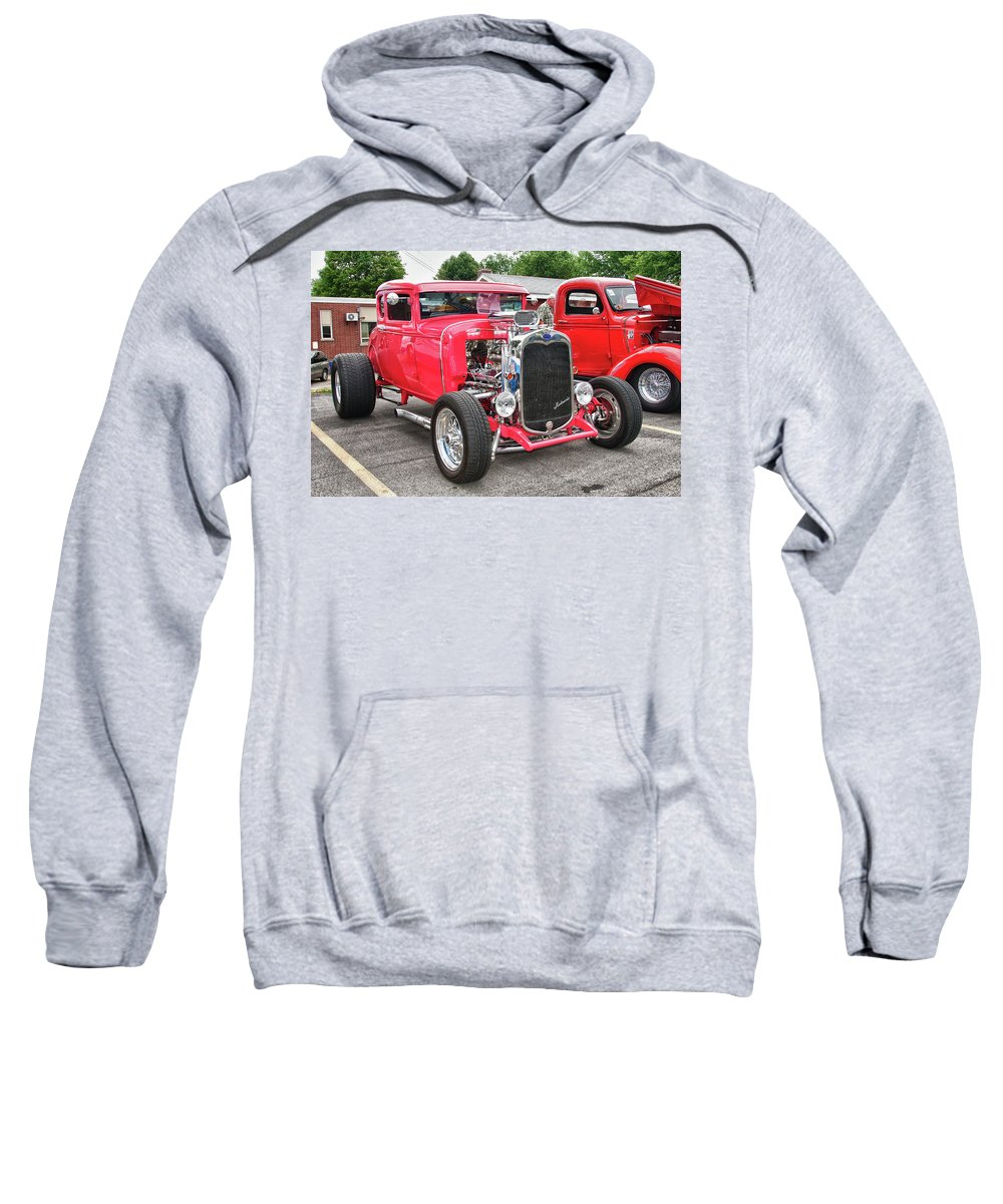 Automobile Sweatshirt featuring the photograph 1930 Ford  7779 by Guy Whiteley
