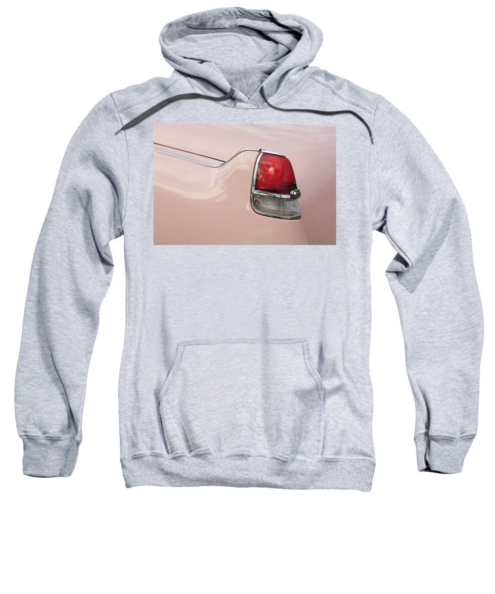 1956 Cadillac Sweatshirt featuring the photograph 1956 Cadillac Taillight by Jill Reger
