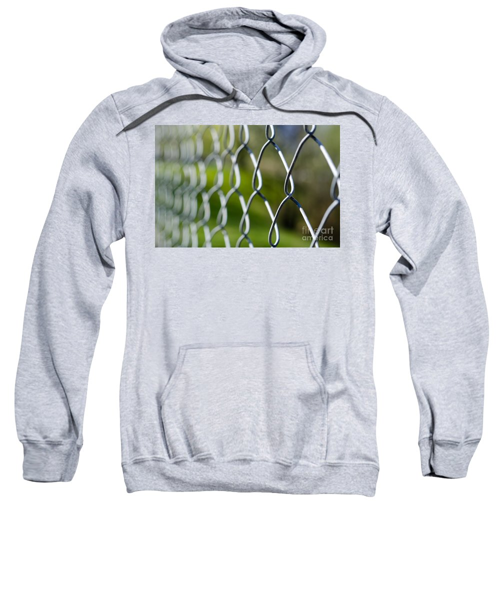 Fence Sweatshirt featuring the photograph Fence by Mats Silvan