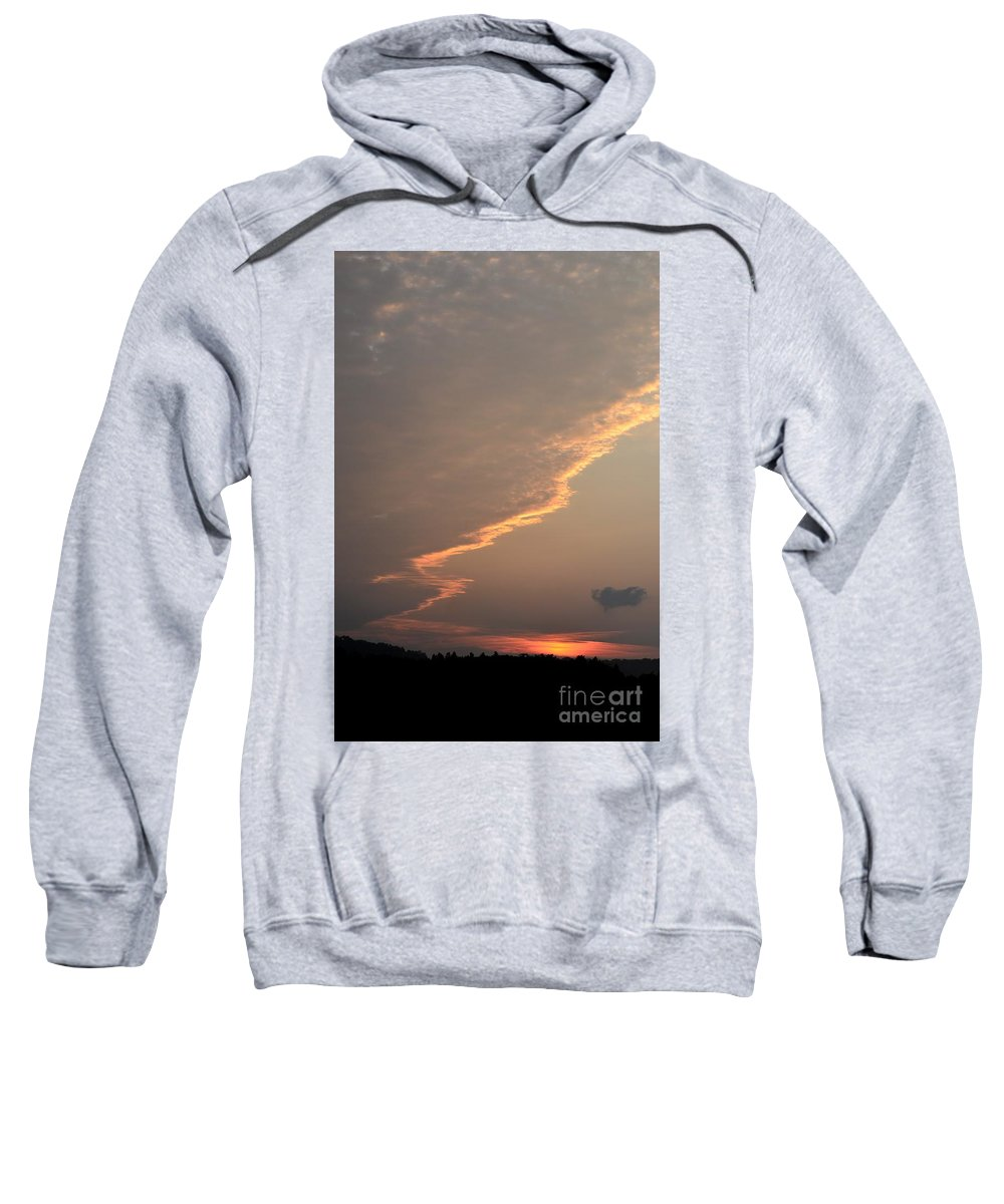 Distance Sweatshirt featuring the photograph From A Distance by Maria Urso