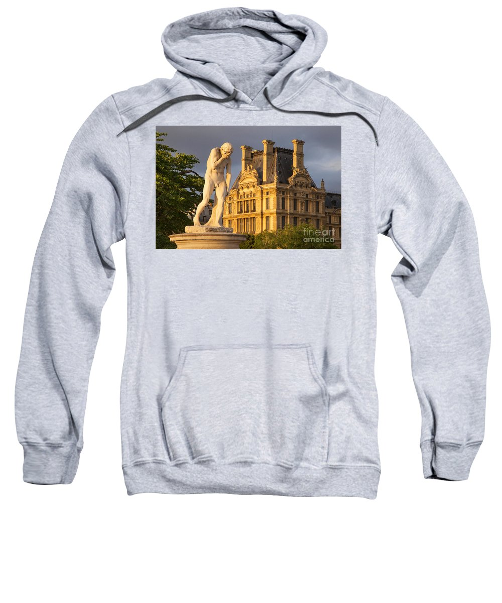 Architecture Sweatshirt featuring the photograph Jardin Des Tuileries by Brian Jannsen