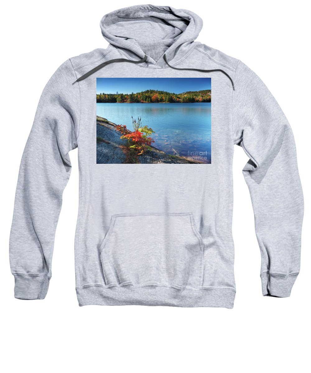 Lake Sweatshirt featuring the photograph Killarney Provincial Park In Fall by Oleksiy Maksymenko