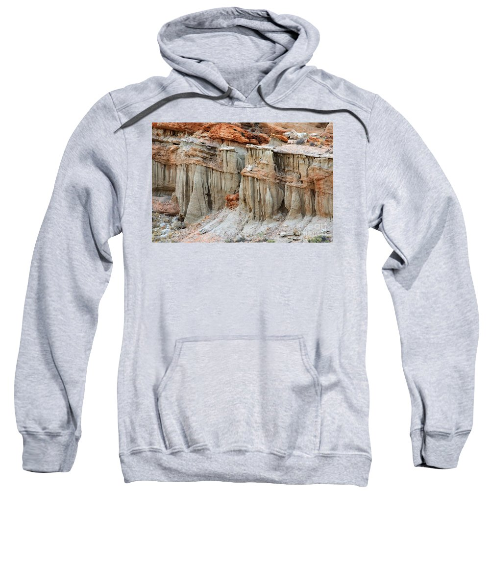 Nature Sweatshirt featuring the photograph Layers Of Time by Bob Christopher
