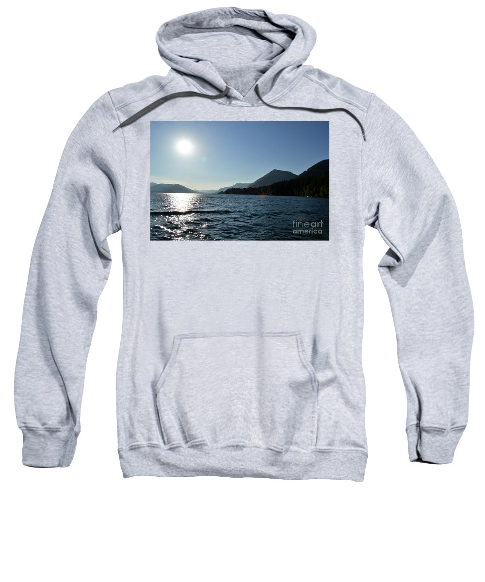 Ocean Sweatshirt featuring the photograph Sunset by Traci Cottingham