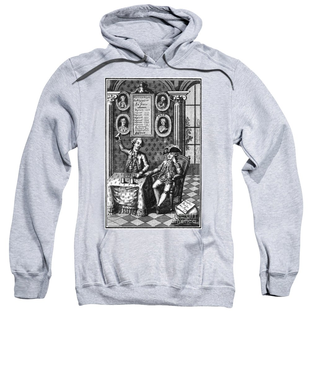 1789 Sweatshirt featuring the photograph Louis Xvi (1754-1793) by Granger