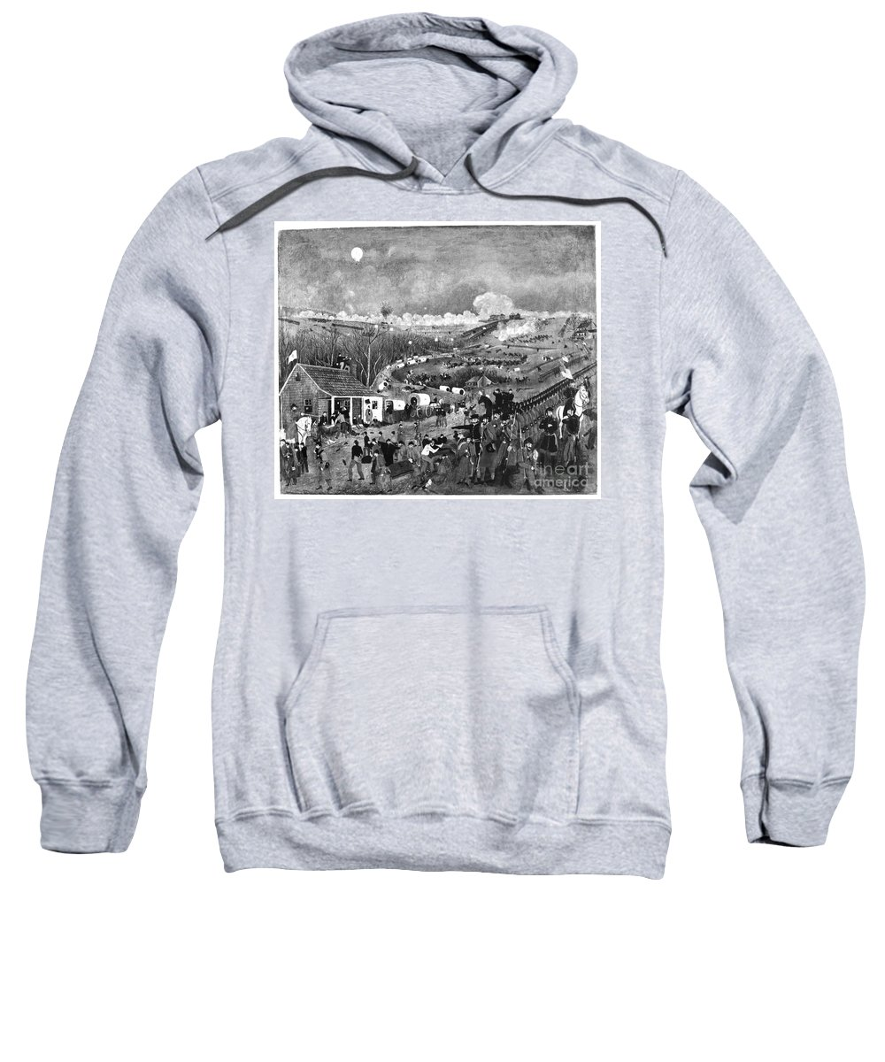19th Century Sweatshirt featuring the photograph Civil War: Fredericksburg by Granger