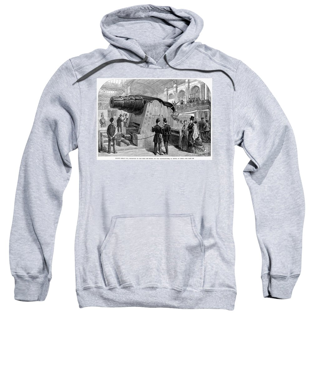 1867 Sweatshirt featuring the photograph Paris: Exposition Of 1867 by Granger