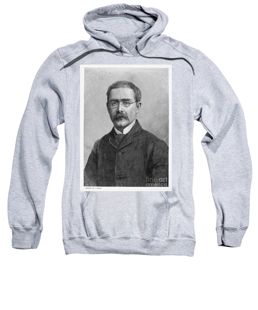 1891 Sweatshirt featuring the photograph Rudyard Kipling (1865-1936) by Granger