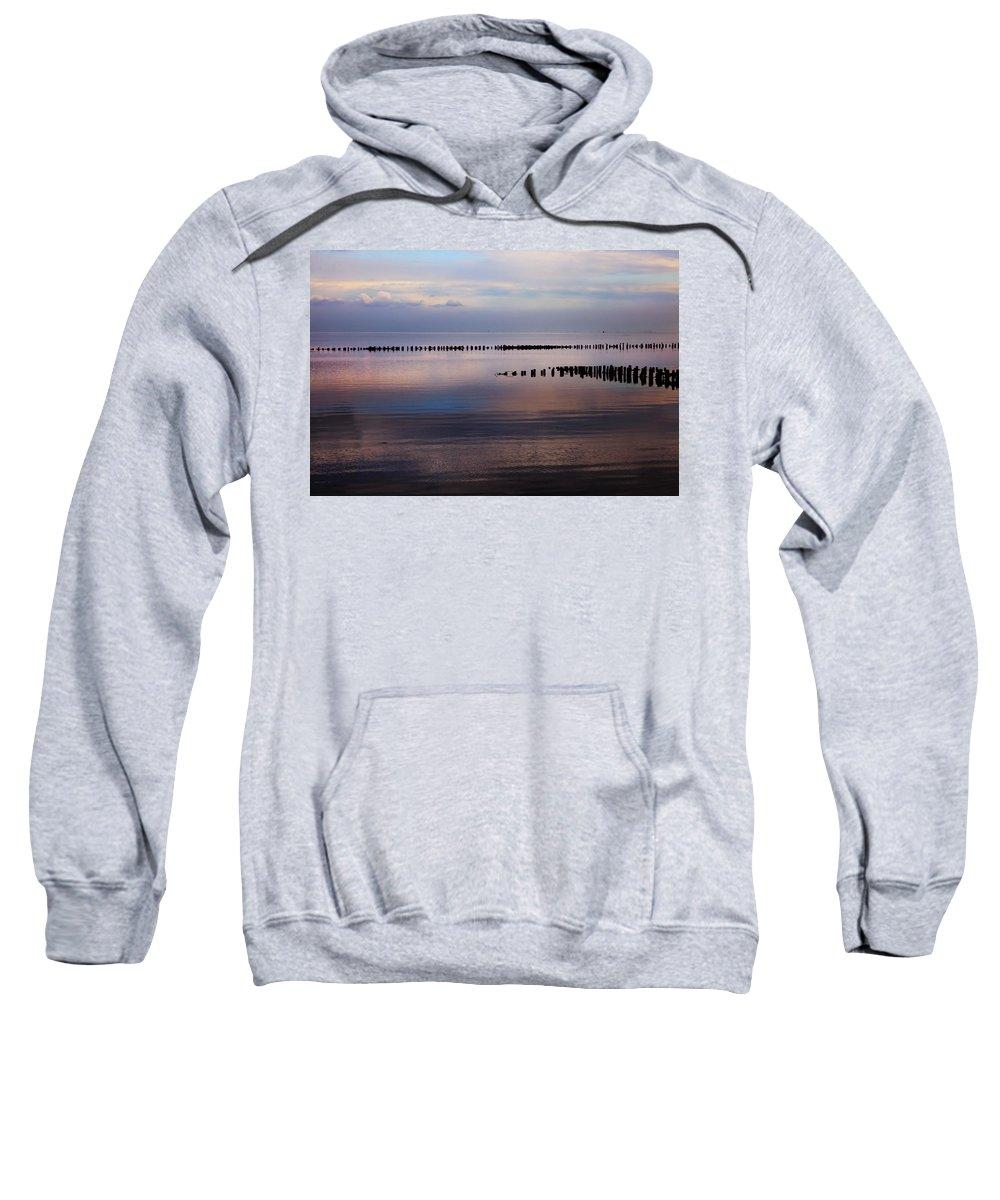 Wadden Sea Sweatshirt featuring the photograph Sylt by Joana Kruse