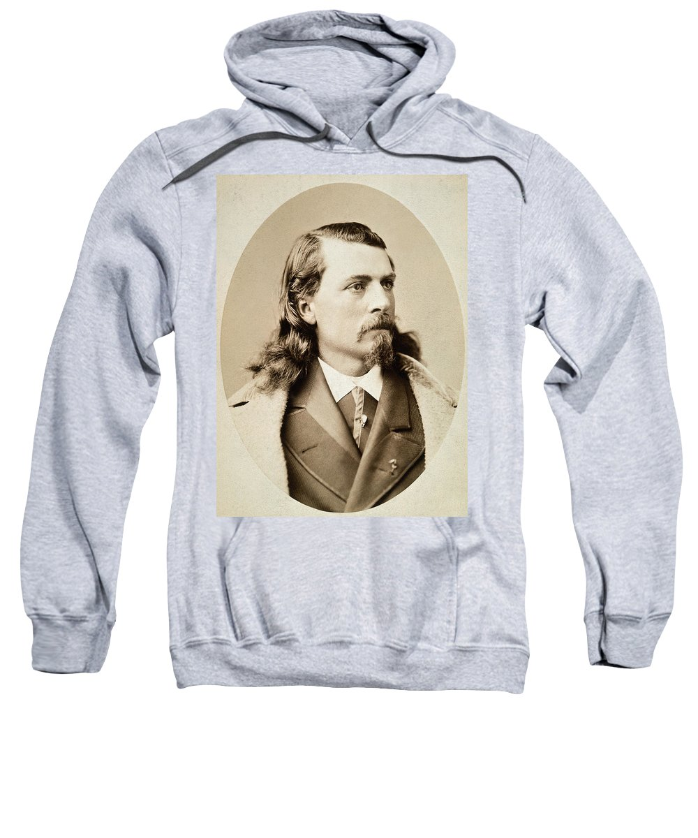 1880 Sweatshirt featuring the photograph William F. Cody (1846-1917) by Granger