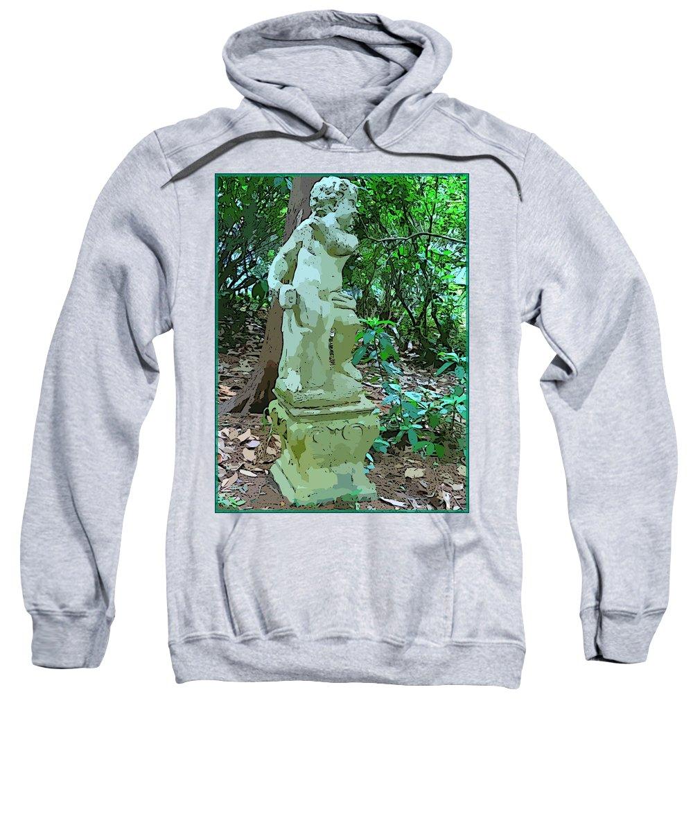 Sculpture Sweatshirt featuring the photograph A Little Charmer by Mindy Newman