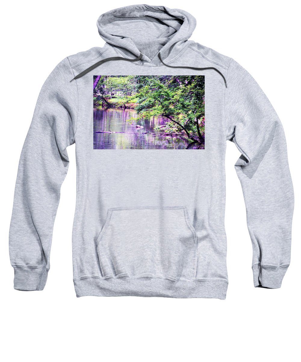 Summer Sweatshirt featuring the photograph A Summer's Afternoon by Maria Urso
