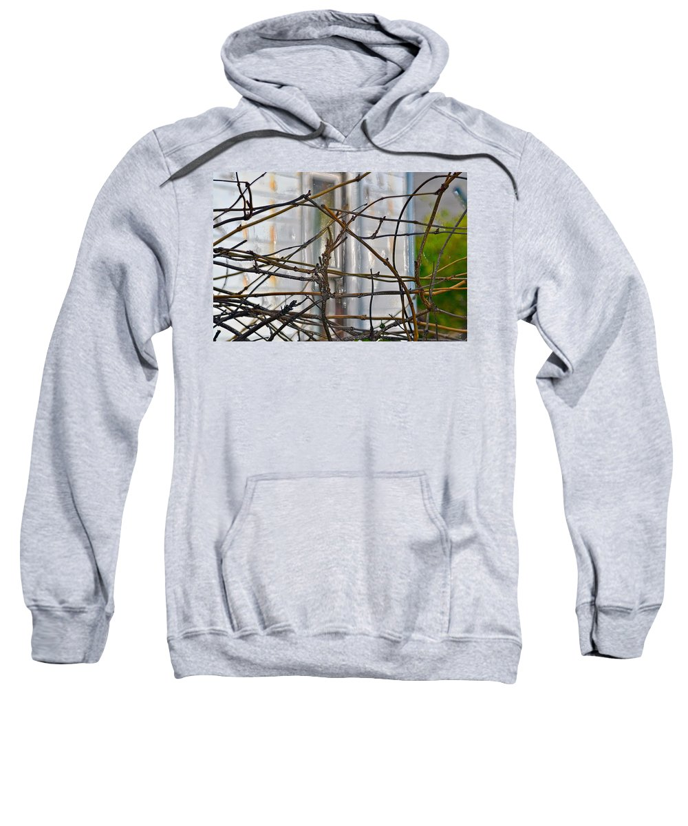 Abandoned House Sweatshirt featuring the photograph Abandoned by Bill Owen