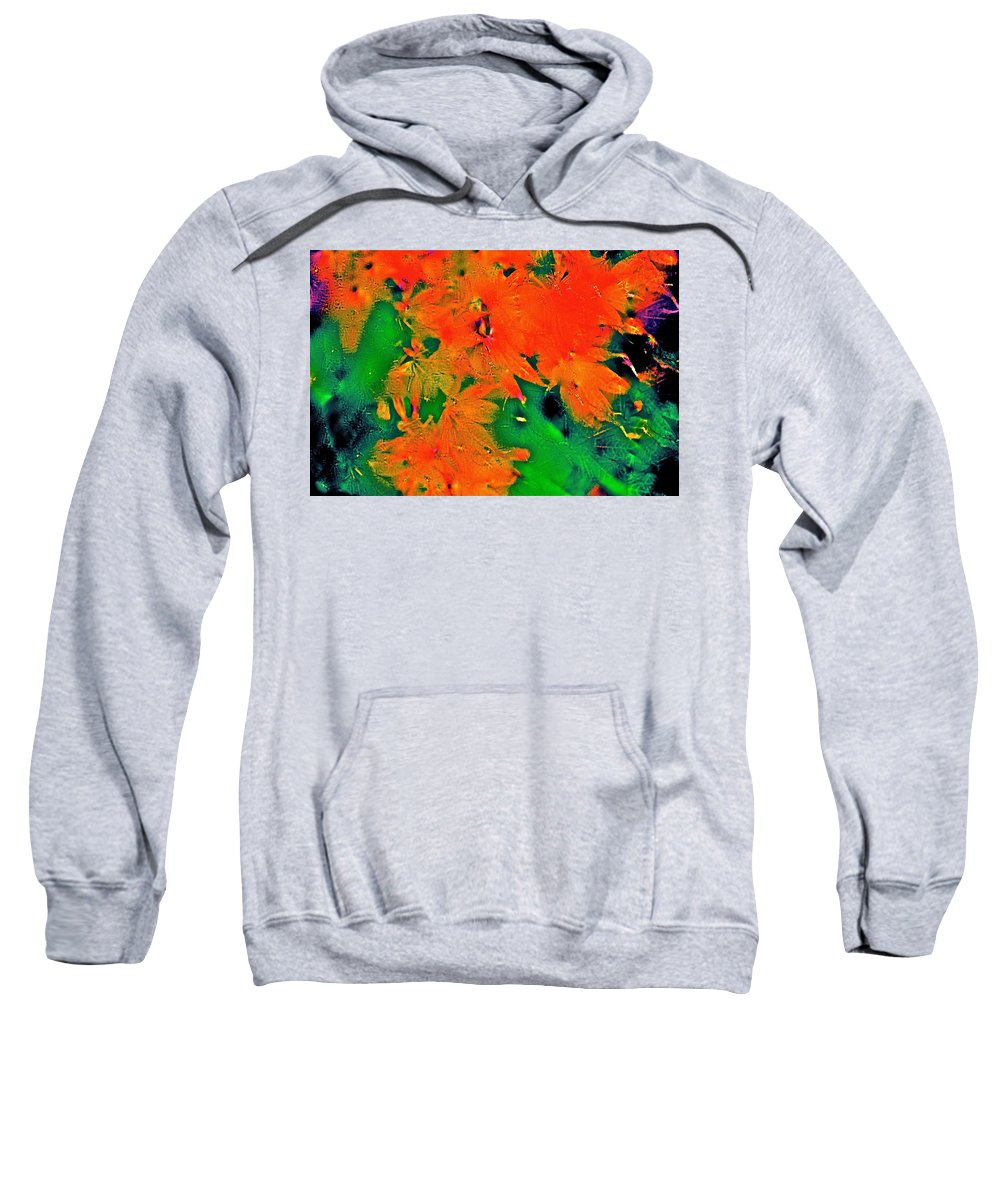 Abstract Sweatshirt featuring the photograph Abstract 83 by Pamela Cooper