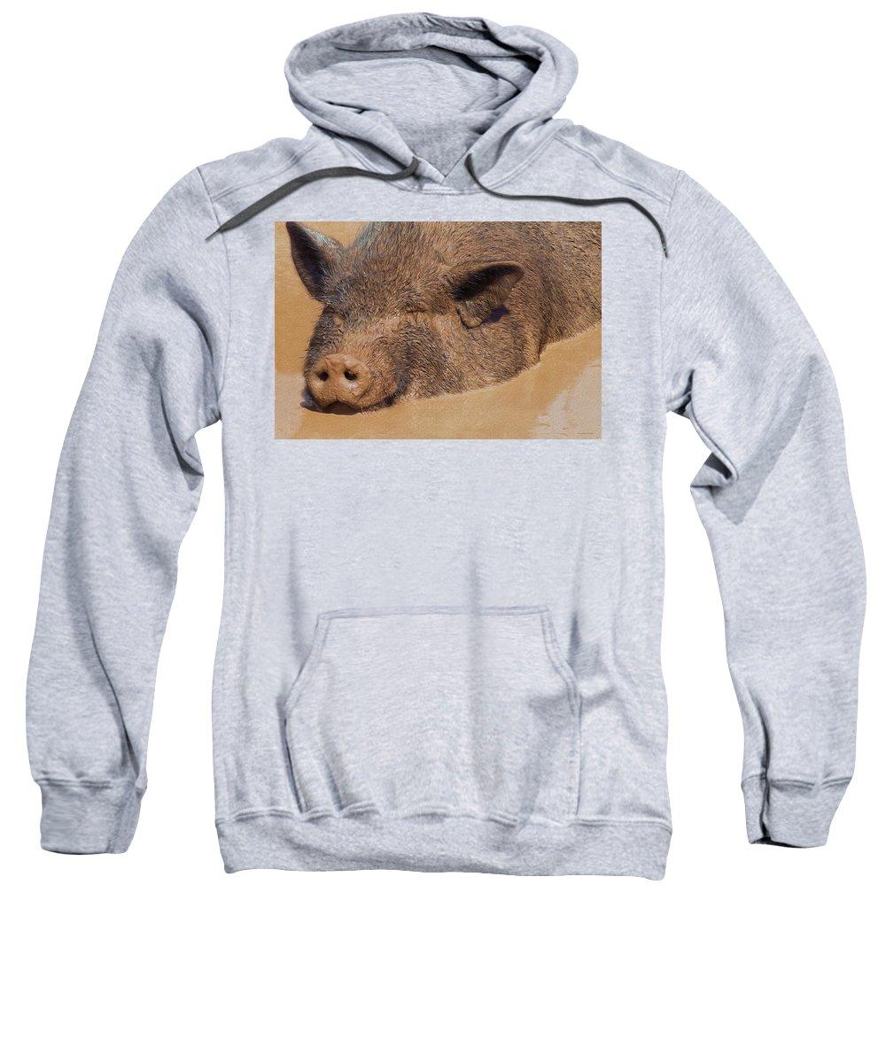 Portrait Sweatshirt featuring the photograph Almost Heaven by Ron Jones