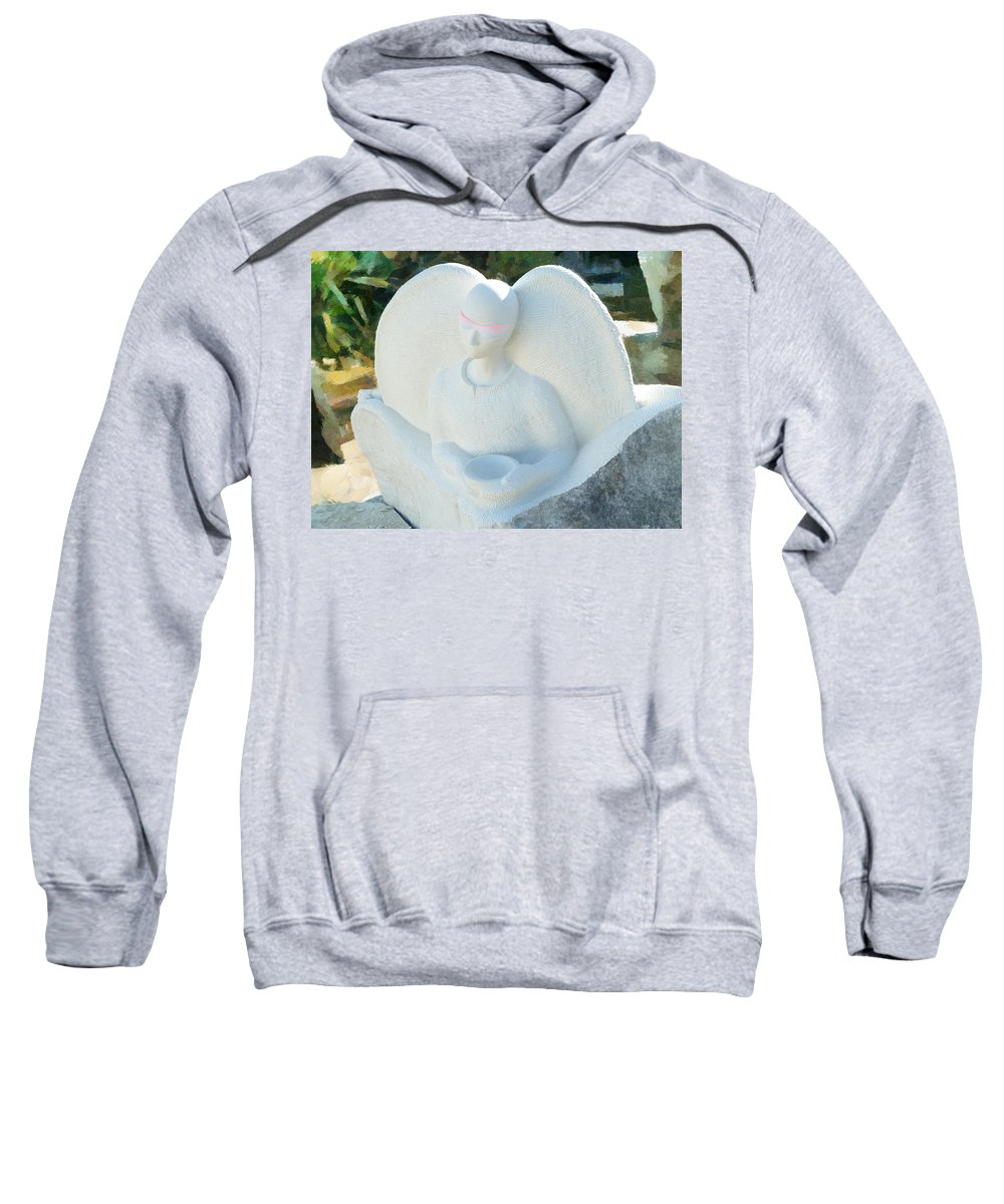 Alms Sweatshirt featuring the photograph Alms For Angels by Steve Taylor