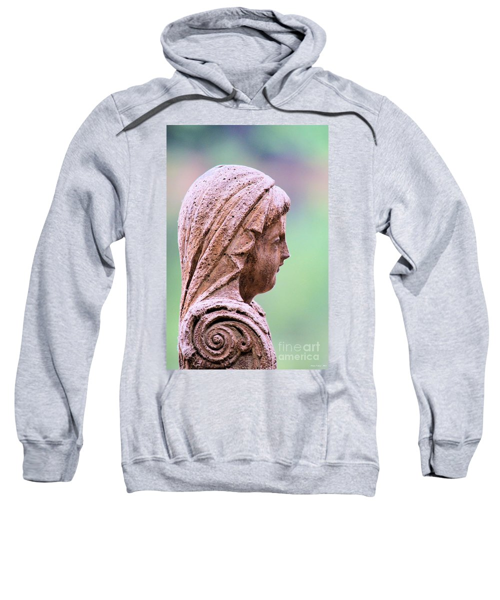 Angel Sweatshirt featuring the photograph Angelface by Maria Urso