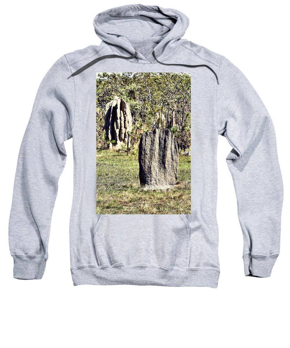 Anthills Sweatshirt featuring the photograph Ant Megastructures-a Trillion Tiny Builders by Douglas Barnard