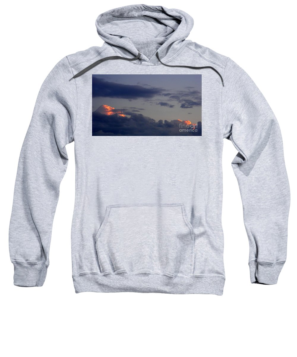 Clouds Sweatshirt featuring the photograph August 12 2008 by Mark Gilman