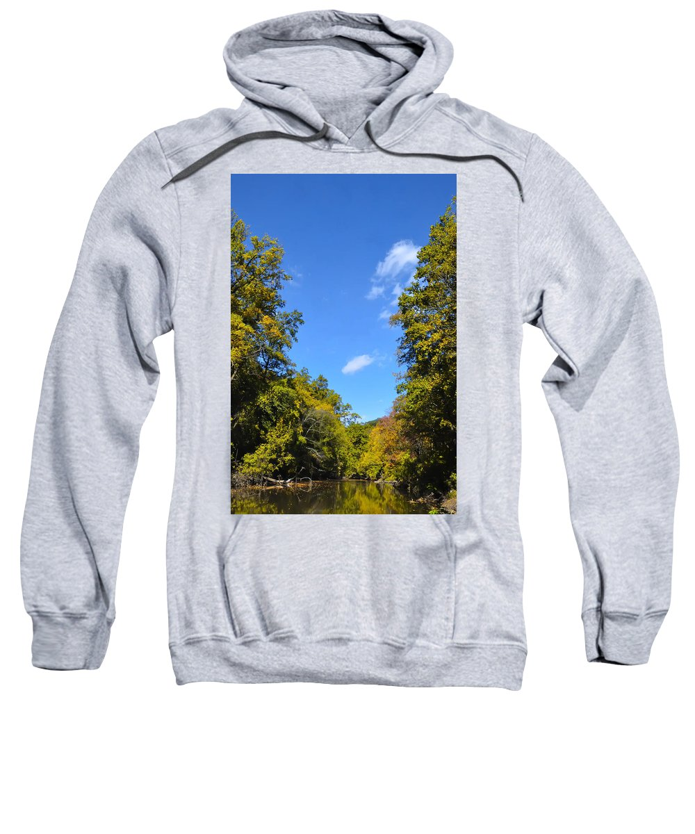 Autumn Sweatshirt featuring the photograph Autumn In Pennsylvania by Bill Cannon