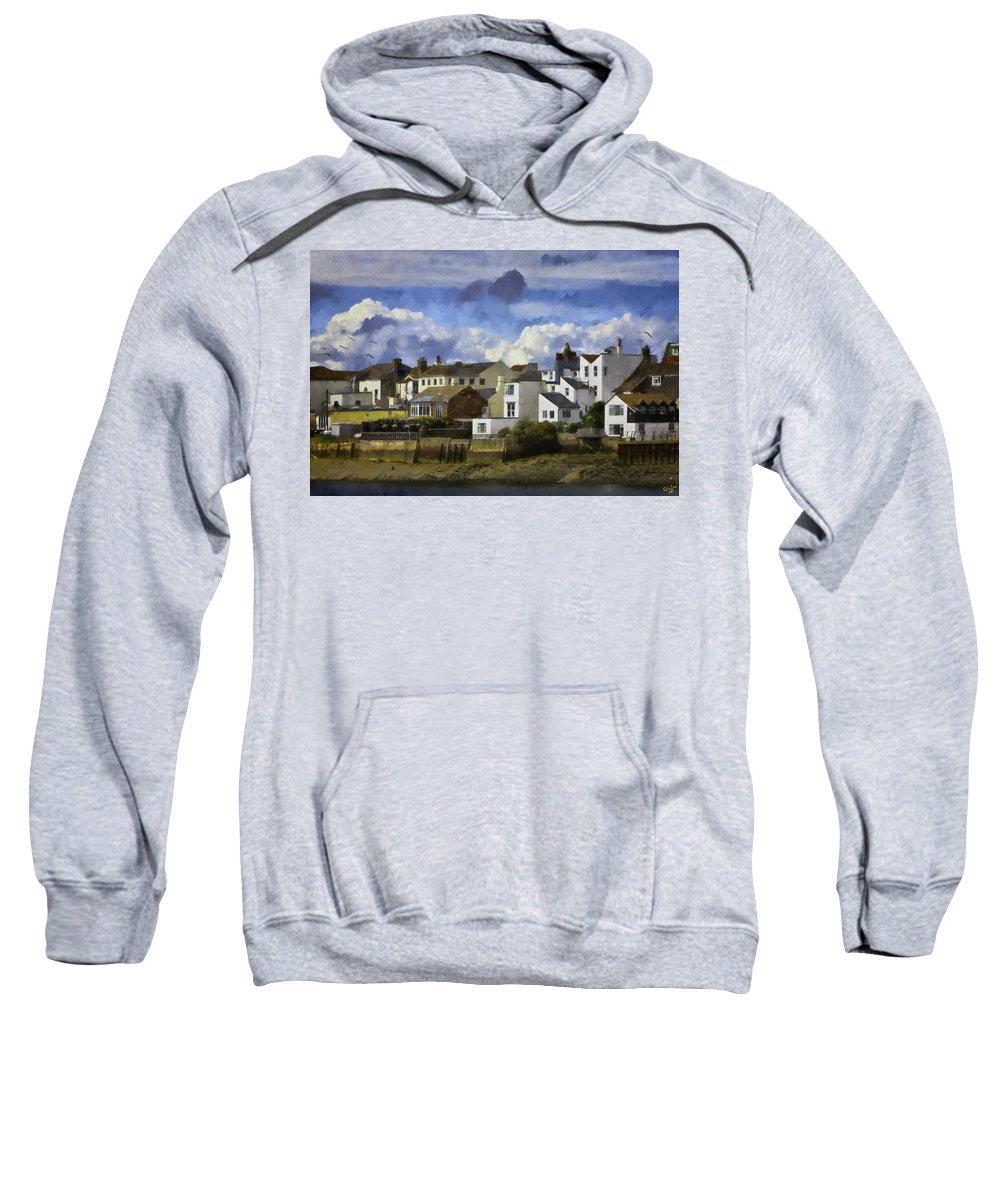 Shoreham Sweatshirt featuring the photograph Back To Shoreham by Chris Lord