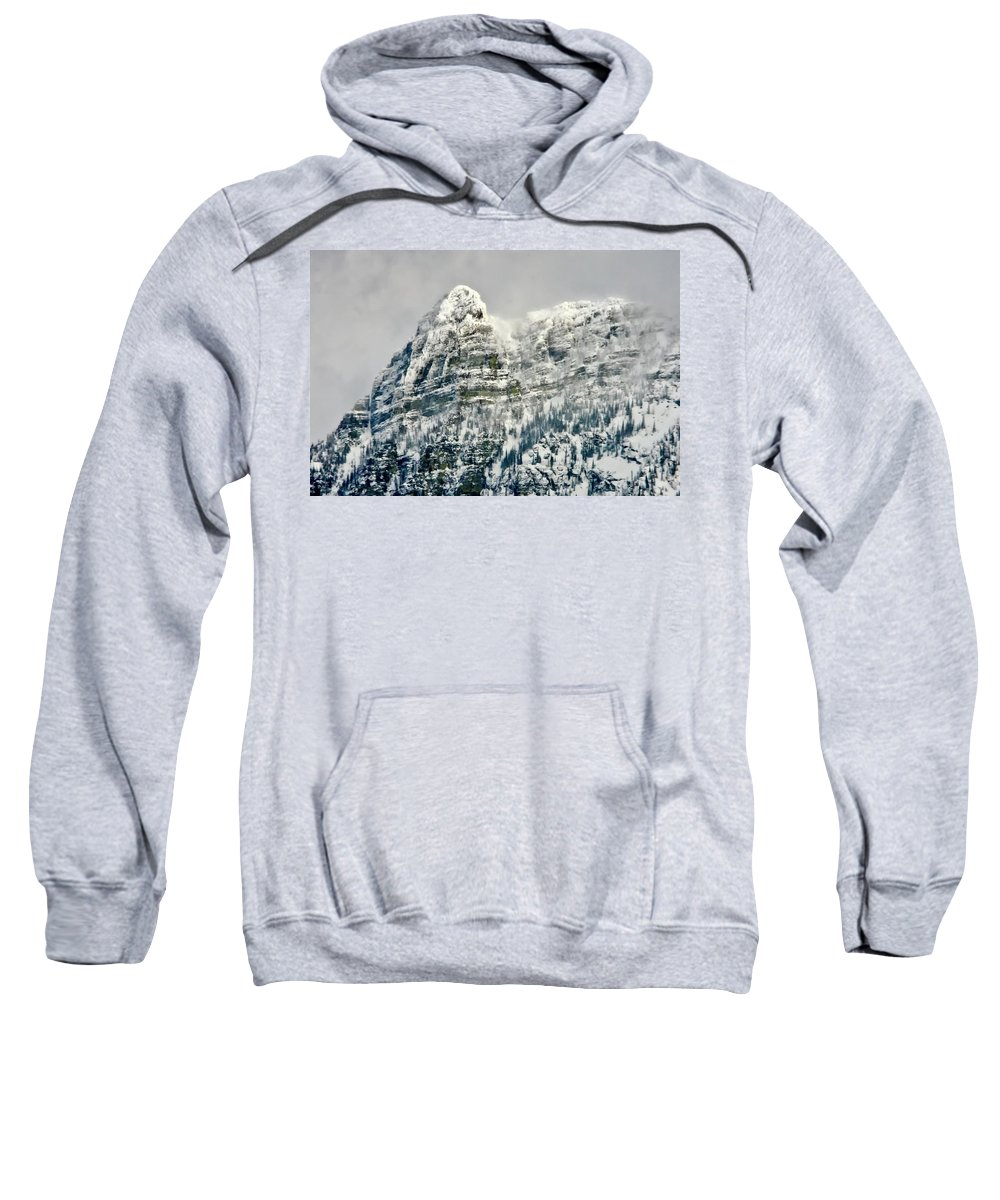 Afternoon Sweatshirt featuring the photograph Bad Medicine by Albert Seger