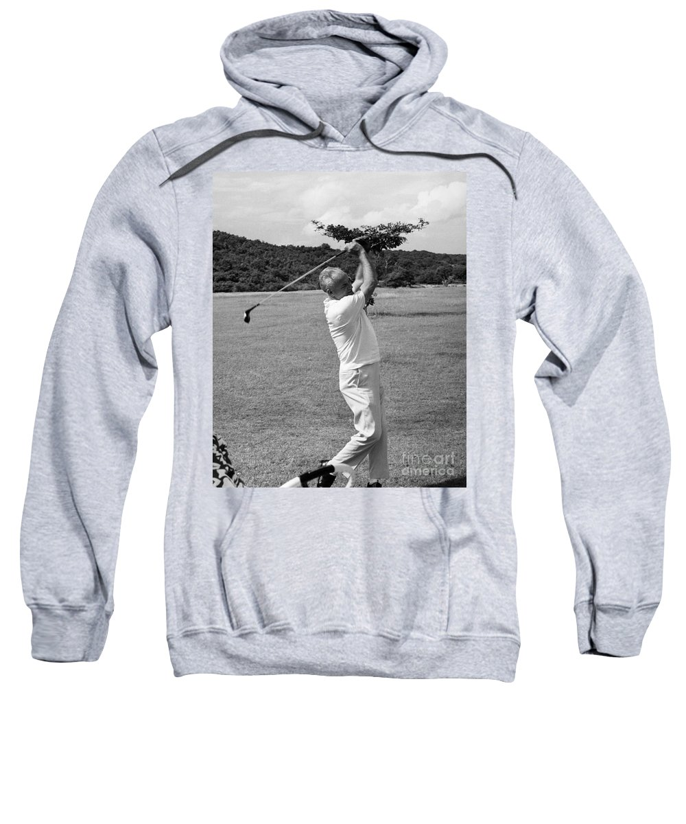 1964 Sweatshirt featuring the photograph Barry Goldwater (1909-1998) by Granger