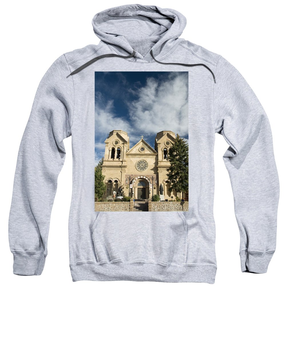 America Sweatshirt featuring the photograph Basilica Of St Francis by Gloria & Richard Maschmeyer