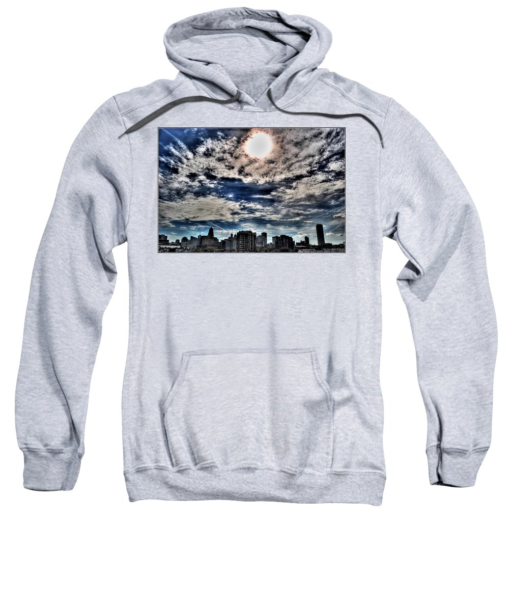 Sweatshirt featuring the photograph Beauty Of The Morning Sky by Michael Frank Jr