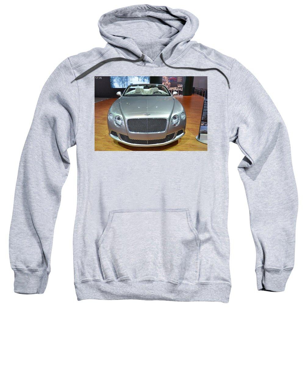 Bentley Sweatshirt featuring the photograph Bentley Starting Price Just Below 200 000 by Randy J Heath